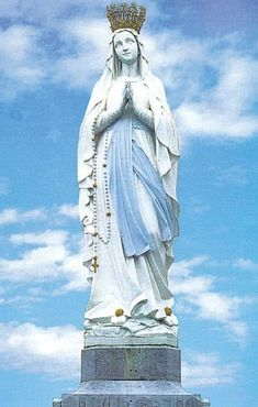 Our Lady Of Lourdes, Immaculate Conception, Hail Mary, Blessed Virgin Mary, Prayer Cards, Statue Of Liberty, Catholic, Prayers, Gallery