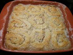 [Old Timey Butter Roll Dessert]  recipe from {southernplate.com}. . .