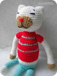 Crochetes: Gato