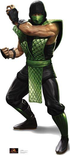 Reptile - Mortal Kombat Cardboard Standup