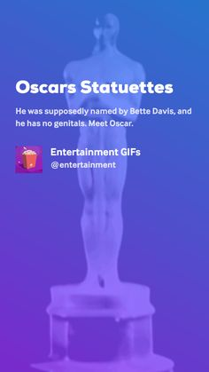 Oscars Statuettes by Entertainment GIFs Learn Sign Language, Movie Gifs, Bette Davis, Amen, Entertaining, Learning, Movies, Films, Studying
