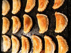 I think these empanadas taste like autumn. Filled with pumpkin, brown sugar, and cinnamon, I can't resist eating one as soon as they come out of the oven.