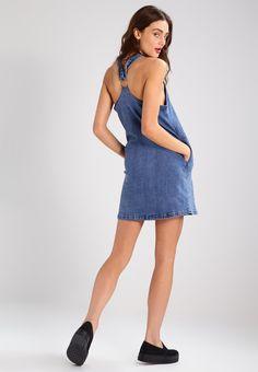The Fifth Label ONE WAY TICKET - Sukienka jeansowa - stone wash blue - Zalando.pl