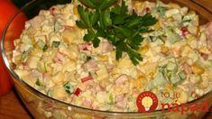 """Ľahký a sýty Ruský šalát """"Alenushka"""": Chrumkavý, voňavý a za 5 minút hotový – báječný pôžitok z každej lyžice! Superfood, Pasta Salad, Potato Salad, Chicken Recipes, Easy Meals, Good Food, Food And Drink, Favorite Recipes, Homemade"""