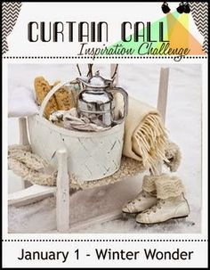 Curtain Call: Curtain Call Inspiration Challenge - Winter Wonder... Due Jan 10