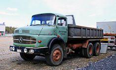 Mercedes-Benz LK 2624 '73 Dump Trucks, Old Trucks, M Benz, Mercedes Benz Trucks, Transporter, Commercial Vehicle, Transportation, Vehicles, Rat Rod Trucks