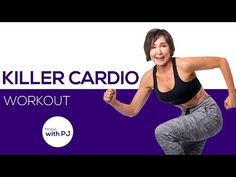 30-Min Killer Cardio Workout (for all levels) - YouTube