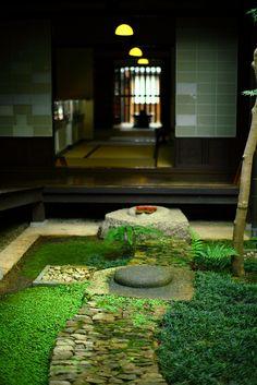 courtyard residence in Nara, Japan