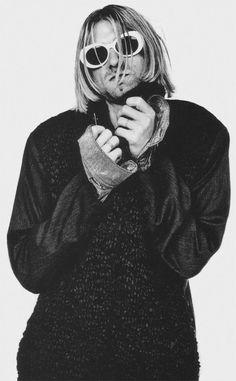 Kurt, July 1993, Seattle, by Anton Corbijn