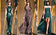 Elie Saab RTW I love Elie Saab flowing dress elegant gown green teal emerald glamour must haves