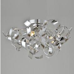 Plafonnier design contemporain D40 cm - Curly. Des plafonniers très design au modèle contemporain ou futuriste sont disponibles dans notre catalogue Kosilum.