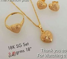 Gold Jewelry Making Light Weight Gold Jewellery, Gold Jewelry Simple, Gold Temple Jewellery, Gold Jewellery Design, India Jewelry, Gold Bangles, Gold Rings, Pendant Jewelry, Pendant Set