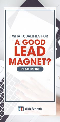 Want to generate more leads? Well, a lead magnet is one of the best ways to do that. And here, we'll show you how to easily craft highly effective lead magnets with these lead magnet ideas and examples. Learn more. Email Marketing Companies, Email Marketing Campaign, Email Marketing Strategy, Sales And Marketing, Internet Marketing, Online Marketing, Business Tips, Online Business, Types Of Lead