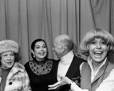 Ethel Merman, Ann Miller, Gavin MacLeod, and Carol Channing