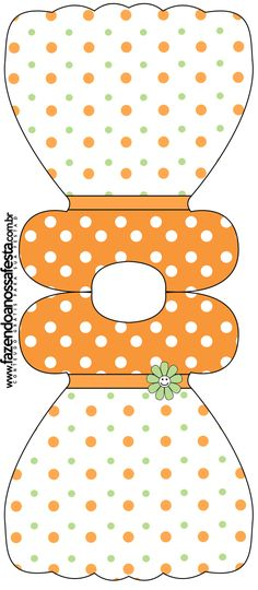 .Cute dress pattern for cards/crafts