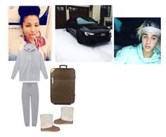 """""""😁kaycee😁going back home."""" by geazybxtch24 ❤ liked on Polyvore featuring interior, interiors, interior design, home, home decor, interior decorating, Justin Bieber, Louis Vuitton, T By Alexander Wang and UGG Australia"""