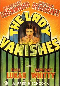 LADY VANISHES, THE Une femme disparaît [The lady vanishes] - Alfred Hitchcock