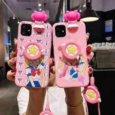 Cute Usagi Phone Case for iphone max Pink Phone Cases, Diy Phone Case, Cute Phone Cases, Iphone Phone Cases, Iphone 11, Cover Iphone, Kawaii Shirts, Kawaii Clothes, Accessoires Iphone
