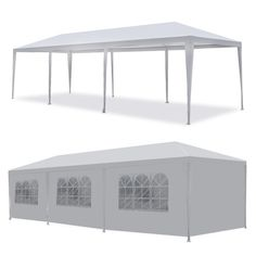 Outdoor 10x30 Canopy Party Wedding Tent Gazebo Pavilion Cater Events W/Sidewalls #Unbranded