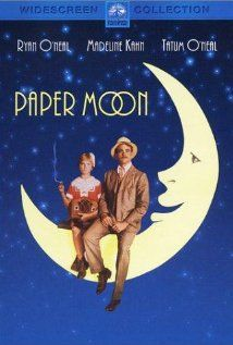 Paper Moon - Ryan O'Neal, Madeline Kahn & Tatum O'Neal - During the Great Depression, a con man finds himself saddled with a young girl who may or may not be his daughter, and the two forge an unlikely partnership. Paper Moon, Madeline Kahn, Ryan O'neal, Beau Film, Great Films, Good Movies, Love Movie, I Movie, Movie List