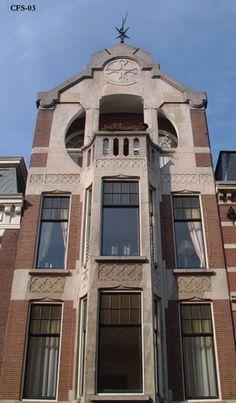 Bouwstijlen :Foto's Art Nouveau in Den Haag