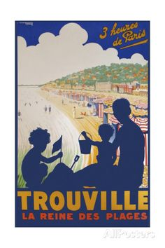 Trouville Giclee Print - AllPosters.co.uk