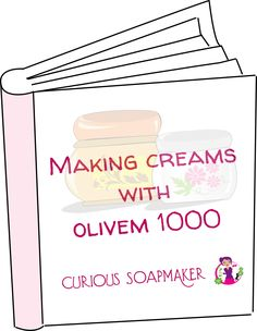 Sign up for newsletter of my blog and get free my 25 page book on Making Creams with (natural emulsifier) Olivem 1000!