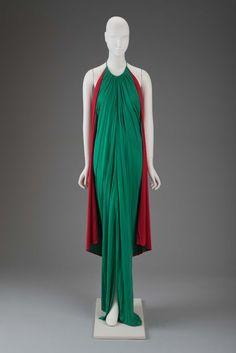 1977, Japan - Rayon dress by Gnyuki Torimaru