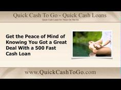 $500 fast cash loans are a benefit to all in need of fast cash http://www.youtube.com/watch?v=HNDS6fvKd-I via @incometaxadv #500fastcash #cashloans #fastcash