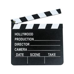 Hollywood Movie Oscar Decor Prop Wooden DIRECTOR'S CLAPBOARD ~ NEW. You will receive 1 clapboard. Wooden clapboard is approx x You can use chalk to write on clapboard (chalk NOT included). Movie Themes, Party Themes, Party Ideas, Theme Parties, Party Fun, Gift Ideas, Movie Reels, Dalida, Movie Night Party