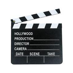 Director's Clapboard - OrientalTrading.com $2.50 each