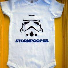 Star Wars onesie - so cute!