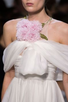 Details at Giambattista Valli - Haute Couture - Spring 2016