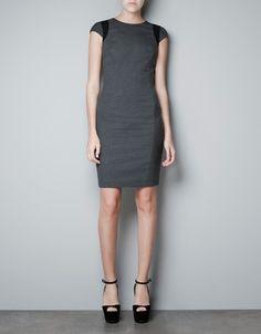 COMBINED DRESS - Dresses - Woman - ZARA United States | $59.90