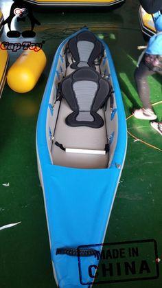 Ocean & Whitewater Fishing Kayaks with good quality Inflatable Fishing Kayak, Inflatable Boat, Fishing 101, Kayak Fishing, Fishing Boats, Kayak Covers, Whitewater Kayaking, Canoeing, White Water Kayak