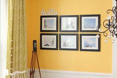Inexpensive artwork using a collection of pictures you've taken.