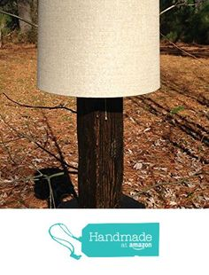 Rustic Reclaimed Wood Table Lamp from BeachworX Recycling http://www.amazon.com/dp/B019FVCDRC/ref=hnd_sw_r_pi_dp_rbnIwb12QRW0N #handmadeatamazon