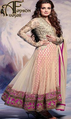 Adorable Flamboyant Four Color Salwar Kameez