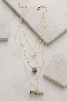 Stacked Stone Necklace - anthropologie.com #anthroregistry