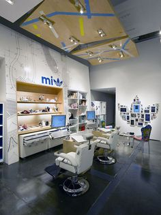 Adidas Original's Atelier by Sid Lee Architecture & Aedifica, New York store design