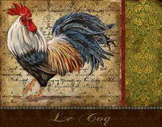 I uploaded new artwork to fineartamerica.com! - 'Le Coq-a' - http://fineartamerica.com/featured/le-coq-a-jean-plout.html via @fineartamerica