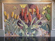 Desert kitchen backsplash from Mosaic Guys