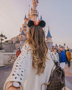 Foto linda no castelo da Disney. #disneyland