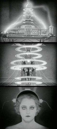 Brigitte Helm dans le rôle de Maria, Metropolis de Fritz Lang, 1926