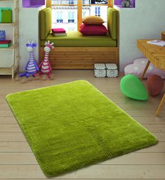 Ebern Designs Fashionable, creative, unlimited colour and pattern options adapt to personal preferences. This bath mat is soft and comfortable, provides a soft and warm touch. This also provides comfort to the feet Size: L x W Floor Chair, Best Sellers, Bath Mat, Miami, Kids Rugs, Confetti, Creative, Green, Pattern