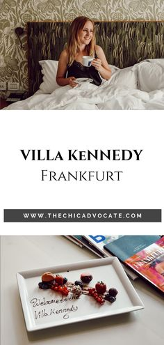 The best 5 Star Hotel in Frankfurt - My stay at Villa Kennedy Boutique hotel in Frankfurt. A true gem in Frankfurt, the Hotel Villa Kennedy offers a spa and a great restaurant. Packing Tips For Vacation, Vacation Outfits, Travel Tips, Villa, Spa, Das Hotel, Best Blogs, Great Restaurants, Best Places To Travel