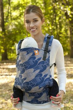 Mokosh Doves of Peace Goura TULA BABY CARRIER