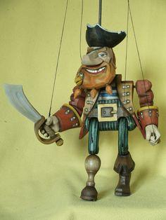 Loutka pirát Rudovous