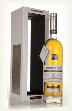 The Girvan Patent Still Single Grain 25 Year Old Launch Edition - Determined to give grain whisky the respect it truly deserves, William Grant & Sons are releasing a range of Girvan Patent Still Single Grain Whiskies, starting with this launch edition of their 25 Year Old, a UK exclusive.