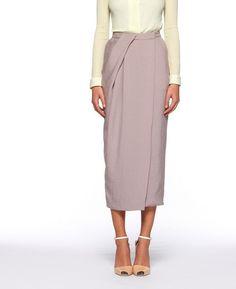 Diane von Furstenberg - Cheyenne Canvas Skirt (it has pockets!!!)